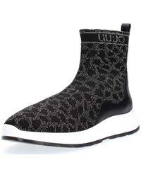 Liu Jo - B69013 TX022 ASIA08 femmes Boots en Noir - Lyst