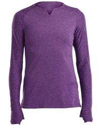 Saucony SAW800260 T-shirt - Violet