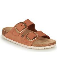 Birkenstock Slippers Arizona Big Buckle Leather - Bruin