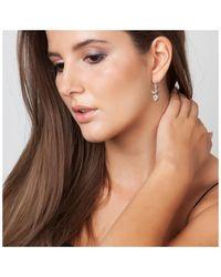 Sc Crystal B1257-BO Boucles oreilles - Métallisé