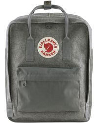 Fjallraven Tas Kanken Re-wool - Grijs