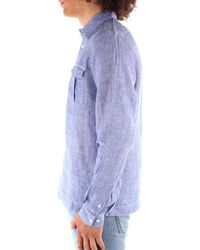 Blauer 21SBLUS01216 Chemise - Bleu