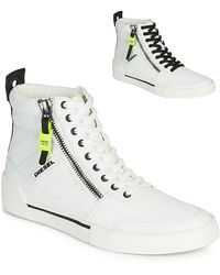 DIESEL Hoge Sneakers S-dvelows - Wit