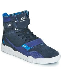 Supra Breaker Shoes (high-top Trainers) - Blue