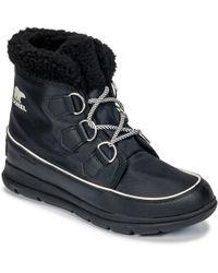 Sorel - Tm Explorer Carnival Women's Snow Boots In Black - Lyst