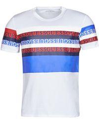 Guess Camiseta LOOP CN SS TEE - Multicolor