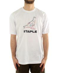 Staple Camiseta 2102C6463 - Blanco