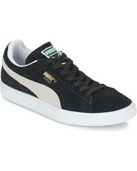 PUMA Lage Sneakers Suede Classic - Zwart
