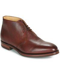 Barker OAKNEY hommes Boots en Marron