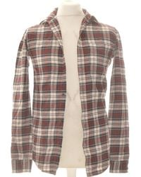 New Look Chemise Manches Longues 34 - T0 - Xs Chemise - Marron