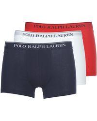 Polo Ralph Lauren CLASSIC-3 PACK-TRUNK Boxers - Bleu