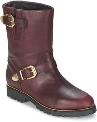 SuperTrash - Marylin Women's Mid Boots In Red - Lyst