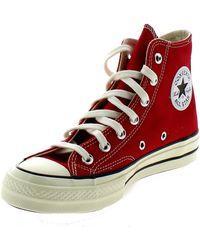 Converse Zapatillas altas CHUCK 70 HIGH ROSSE - Rojo