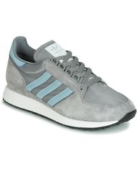 adidas Lage Sneakers Forest Grove - Grijs