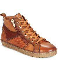 Pikolinos Hoge Sneakers Lagos 901 - Bruin