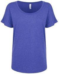 Next Level T-shirt NX6760 - Bleu