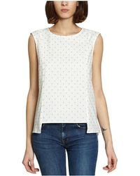 French Trotters - Hana Top 39881 White Women's Shirt In White - Lyst