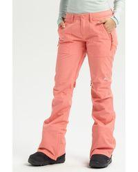 Burton Pantalon Wo Vida Pant - Rose