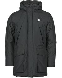 Fred Perry Parka - Noir