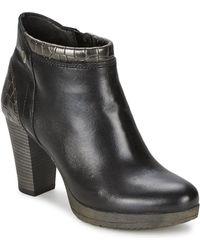 Dream in Green - Zafer Women's Low Ankle Boots In Black - Lyst