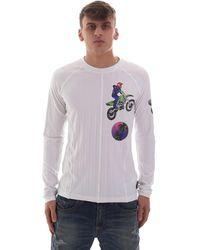 Versace B3GVB70510618003 Pull - Blanc