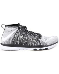 Nike Train Ultrafast Flyknit Chaussures - Blanc