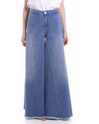 FEDERICA TOSI FTE20PJ058.BVDENIM Jeans - Bleu