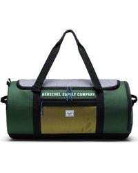 Herschel Supply Co. Reisetasche Sutton Carryall Greener Pastures/Grey/Cyber Yellow - Grau