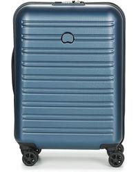 Delsey Reiskoffer Segur 2.0 Cab Sl 4dr 55cm - Blauw