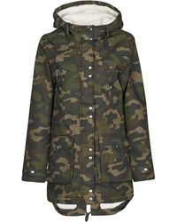 Volcom WALK ON BY 5K NUTS Parka - Multicolore
