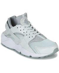 3537f995e6d7 Nike - Air Huarache Run W Women s Shoes (trainers) In Grey - Lyst