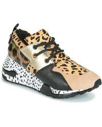 Steve Madden Lage Sneakers Cliff - Naturel