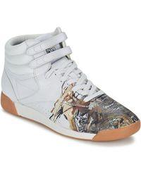 Reebok Hoge Sneakers F/s Hi Int R12 - Wit