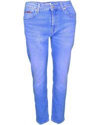 Tommy Hilfiger - Jean bleu délavé slim pour femme femmes Jeans en bleu - Lyst