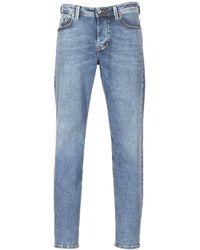 DIESEL Straight Jeans Larkee Beex - Blauw