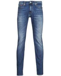 Tommy Hilfiger SCANTON SLIM AE136 MBS Jeans - Bleu