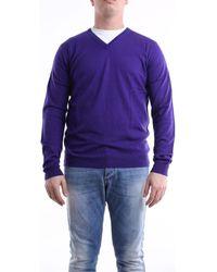 Daniele Alessandrini FM52121S3906 Pull - Violet