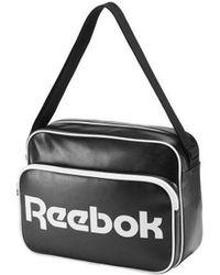 Reebok - Cl Roy Shoulder Men's Shoulder Bag In Black - Lyst