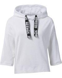 Reebok Sweater Wor Meet You There Badstof Hoodie - Wit