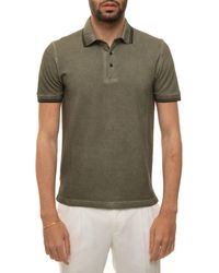 Canali T0672-MY01200811 Polo - Vert