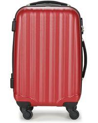 David Jones Chauvetta 36l Hard Suitcase - Red