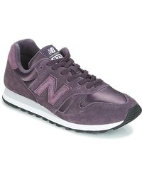 New Balance Lage Sneakers Wl373 - Paars