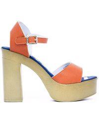 U.S. POLO ASSN. Sandales U.s. polo - faye4026s8_y1 - Orange