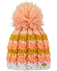 Barts Muts Feather Beanie - Oranje