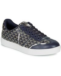 Emporio Armani Lage Sneakers X3x083-xm056-r534 - Blauw