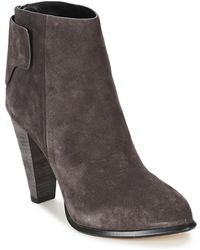 French Connection - Cameo Women's Low Ankle Boots In Grey - Lyst