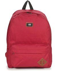 Vans - Old Skool Ii Backpack Men s Backpack In Red - Lyst ae0f3984802