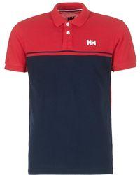 Helly Hansen - Salt Polo Men's Polo Shirt In Red - Lyst