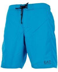 EA7 - Short de bain hommes Maillots de bain en bleu - Lyst