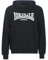 Lonsdale London Sweater Wolterton - Zwart